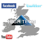 High Tech Distribution UK Social Media