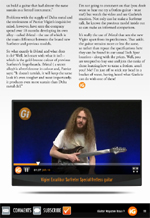 Guthrie Govan slides on the new Vigier