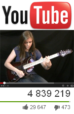 You might not want to watch this 14yr old girl playing guitar...