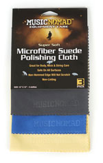 Soft Microfibre Suede Polishing Cloth - 3 Pack